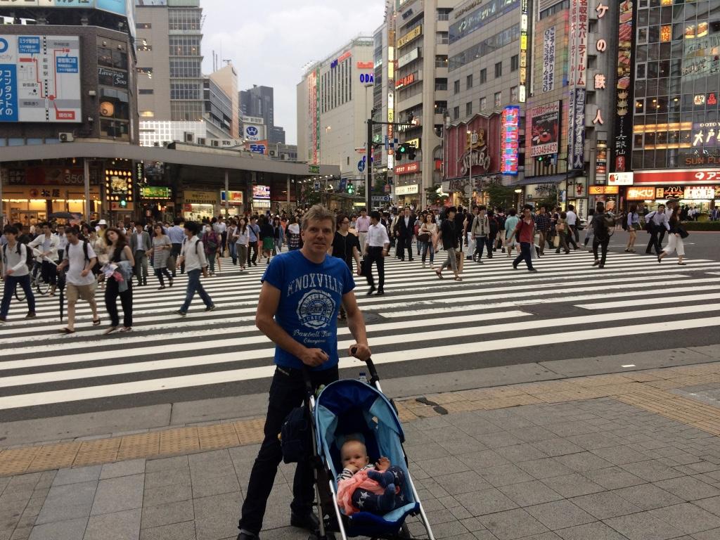 En resa runt jordklotet – Del 1: Storstadspuls i Tokyo