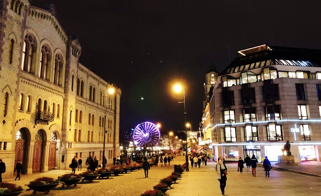 Blixtvisit i Oslo och bästa julklappen…