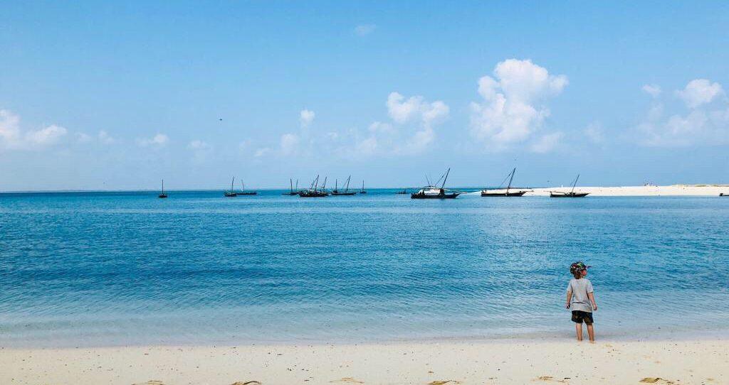 Jambo jambo från Kendwa Beach på Zanzibar