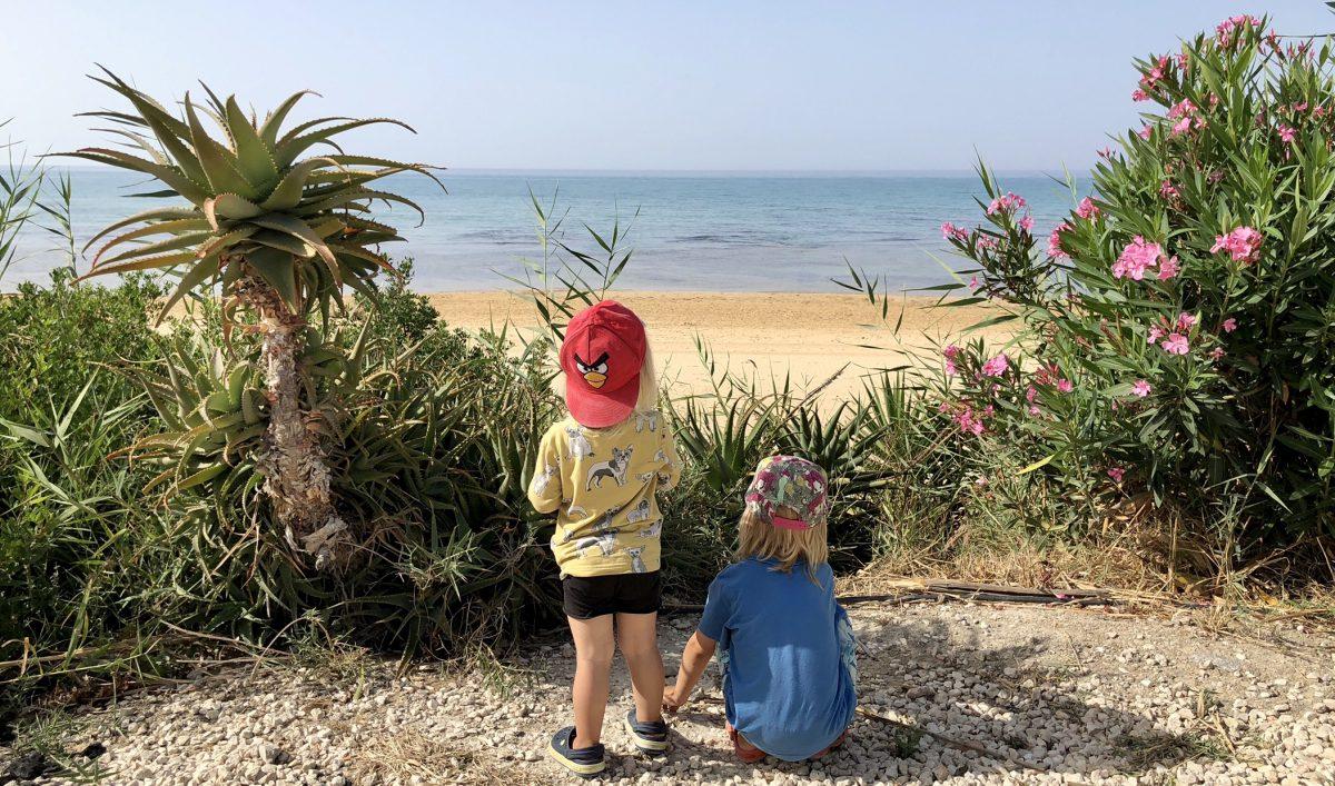 Strandhäng i Punta Grande & Scala dei Turchi