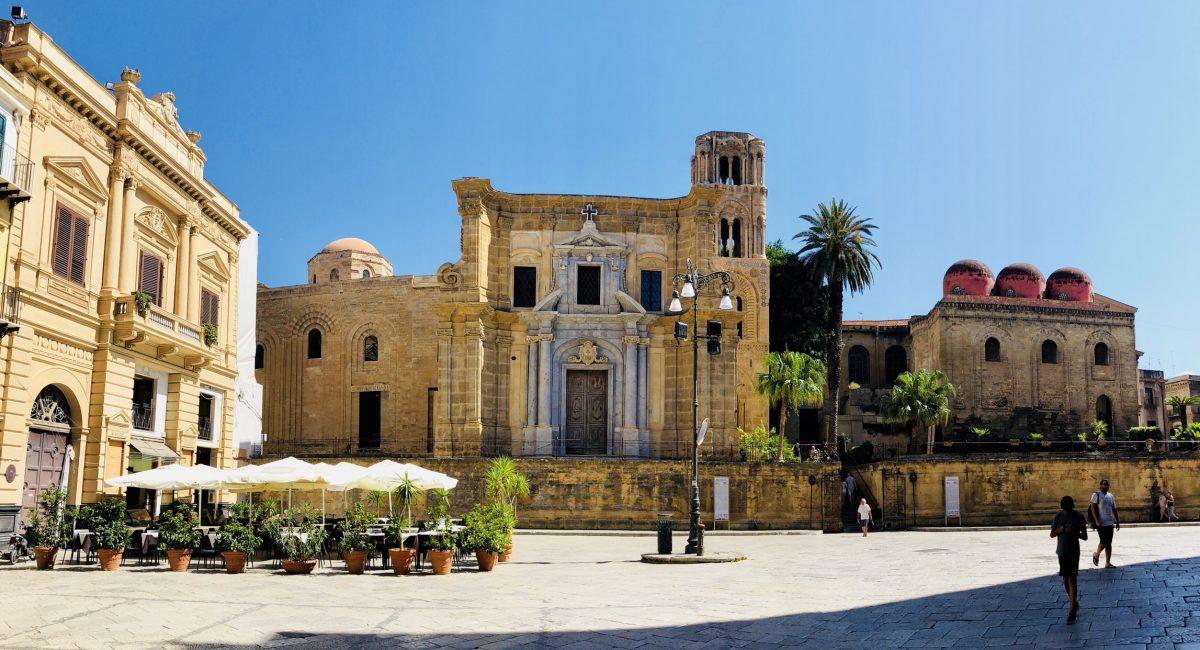 En dag i häftiga Palermo