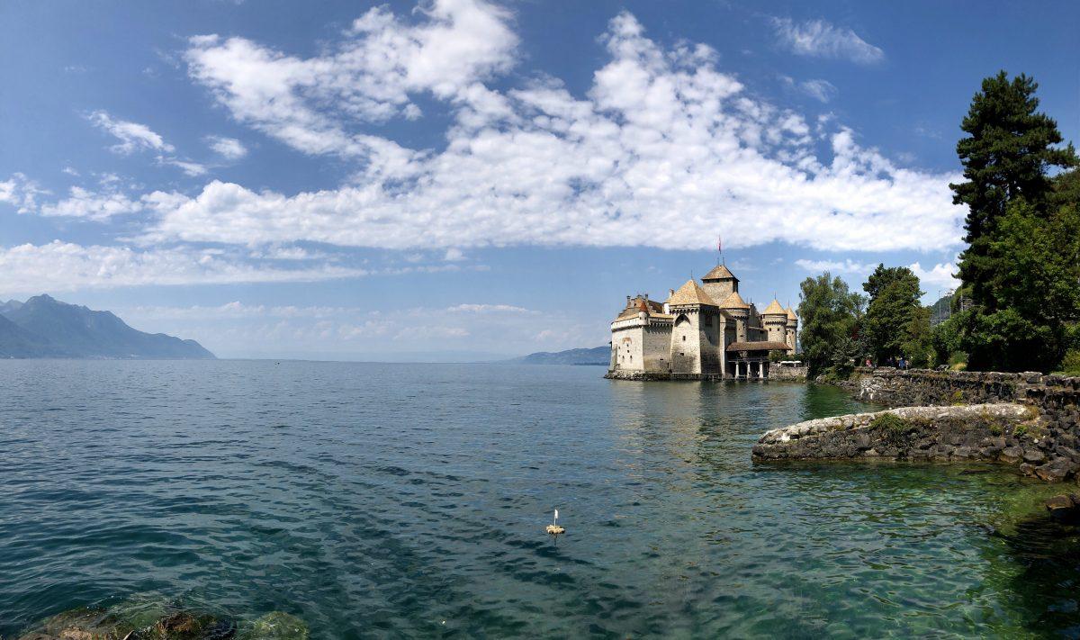 Ett kort stopp i Schweiz – sedan mil efter mil genom Tyskland